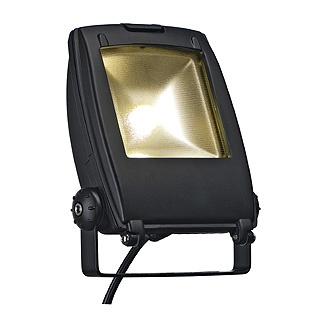 SLV | LED FLOOD LIGHT 10W zwart 1xLED 3000K