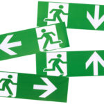 DecaLED | Pictogram Set 4 stk voor 94000115 ISO 7010